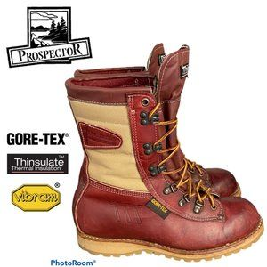 Vintage Prospector Hunting Boots - Size 7.5